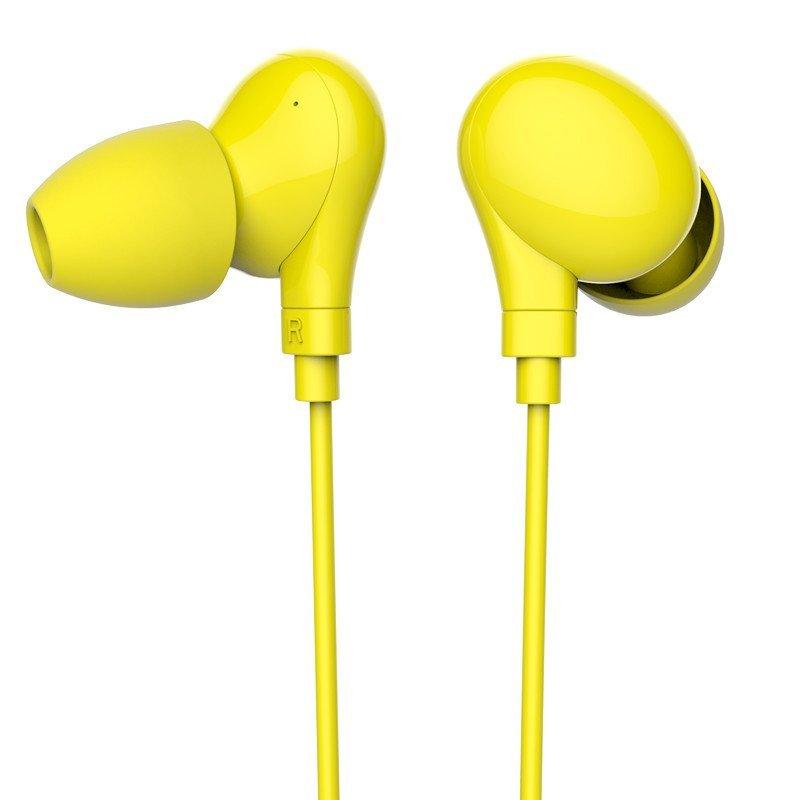 赛尔贝尔(syllable) A6-005 无线蓝牙耳机 运动耳机 入耳式耳机 柠檬黄