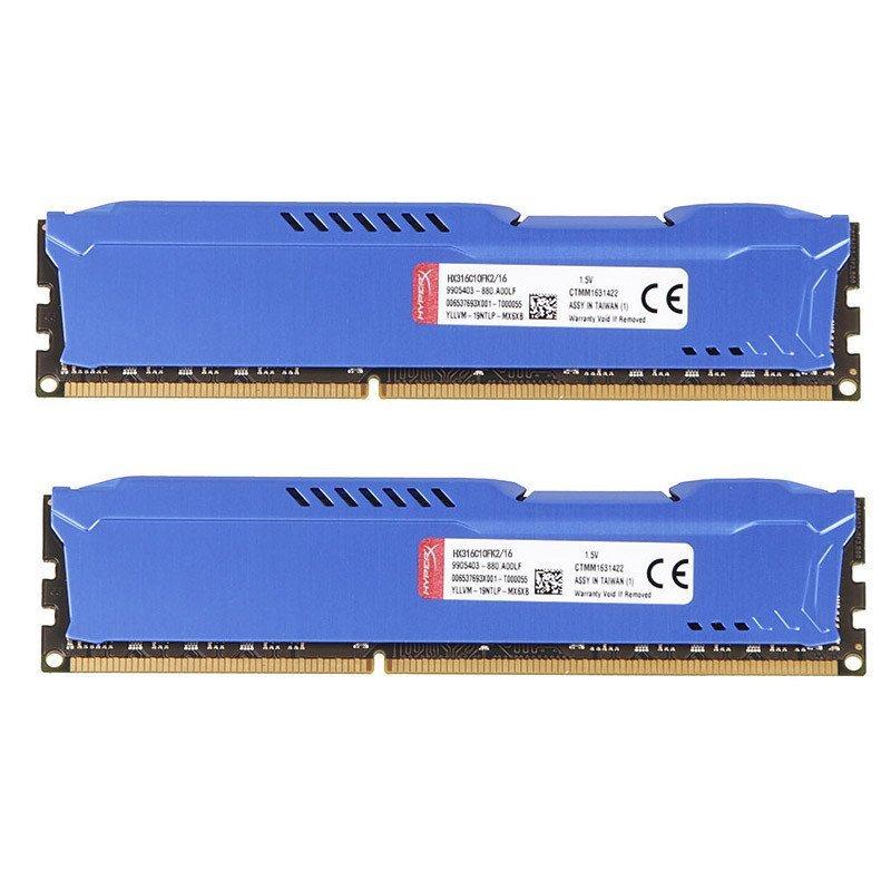 金士顿 (Kingston) 骇客神条 Fury系列 DDR3 1600 8GB(4GB*2) 台式机内存条