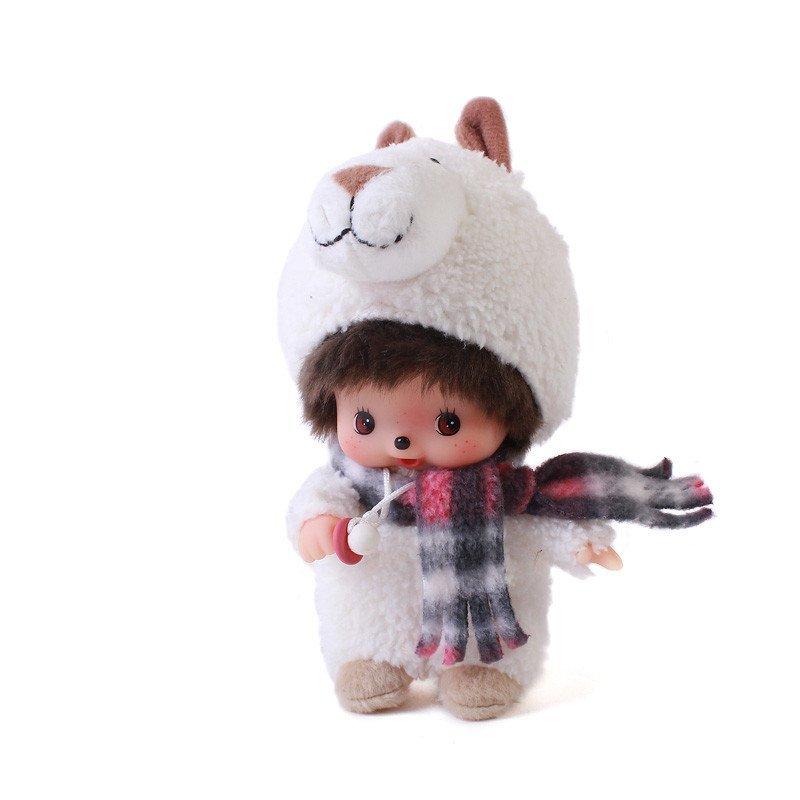 悦达 萌趣趣曾用名蒙奇奇公仔正版 可爱bb系列幼毛绒玩具娃娃 15厘米