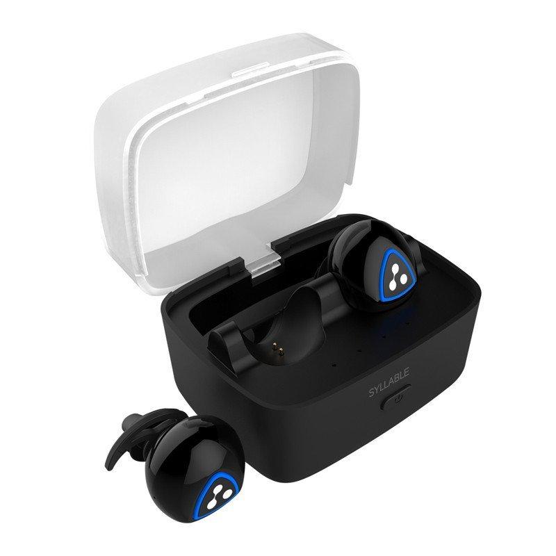 赛尔贝尔(SYLLABLE) D900S-001 真无线 蓝牙4.0 入耳式运动耳机 黑色