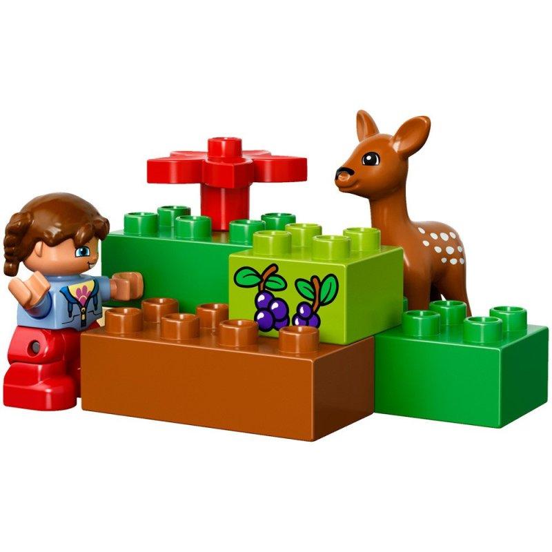 lego 乐高 duplo 得宝系列森林主题:野生公园 10584