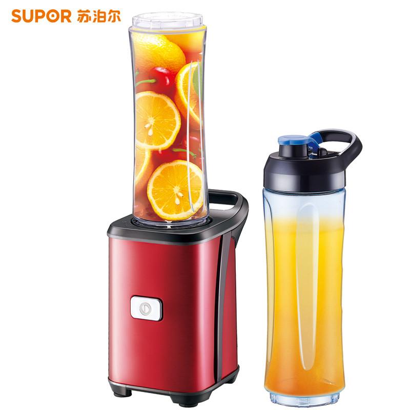 苏泊尔榨汁机价格_苏泊尔(SUPOR)TJE08A-250便携式搅拌机迷你家用果汁机全自动小型
