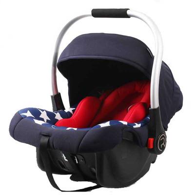 瑞贝乐(REEBABY)汽车儿童安全座椅 婴儿提篮 (0-12个月)0-13KG反向安装 美国队长