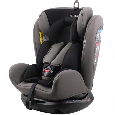 瑞贝乐(REEBABY)RIOLA汽车儿童约束系统(汽车安全座椅)906/906F 美队0-12岁正反安装0-36kg 潜力灰普通款