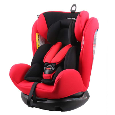 瑞贝乐(REEBABY)RIOLA汽车儿童约束系统(汽车安全座椅)906/906F 美队0-12岁正反安装0-36kg 活力红普通款