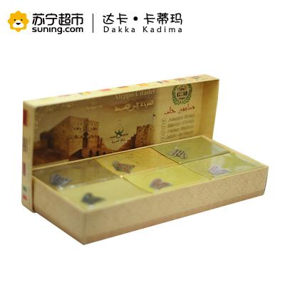 天然橄榄皂分享装 DAKKA KADIMA/达卡卡蒂玛 叙利亚进口 手工皂 深层清洁 各种肤质通用150克×6