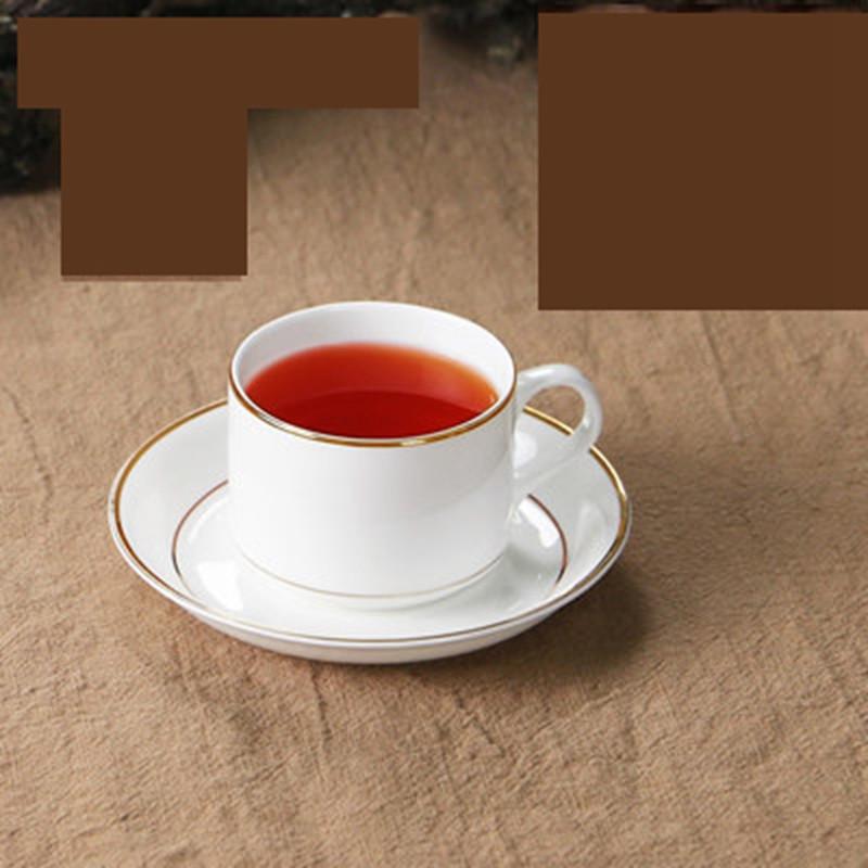 咖啡杯子送碟子勺子下午茶杯 英式 咖啡杯套装 奥式黄金边杯 碟送勺