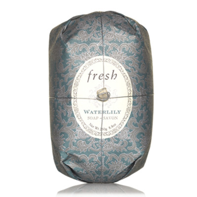 【苏宁超市】Fresh 馥蕾诗睡莲瑰丽香皂 250g 温和清洁肌肤沐浴皂