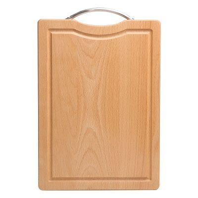 COOKER KING 炊大皇 菜板实木长方形抗菌耐用家用擀面砧板榉木整木切菜水果 WG15822