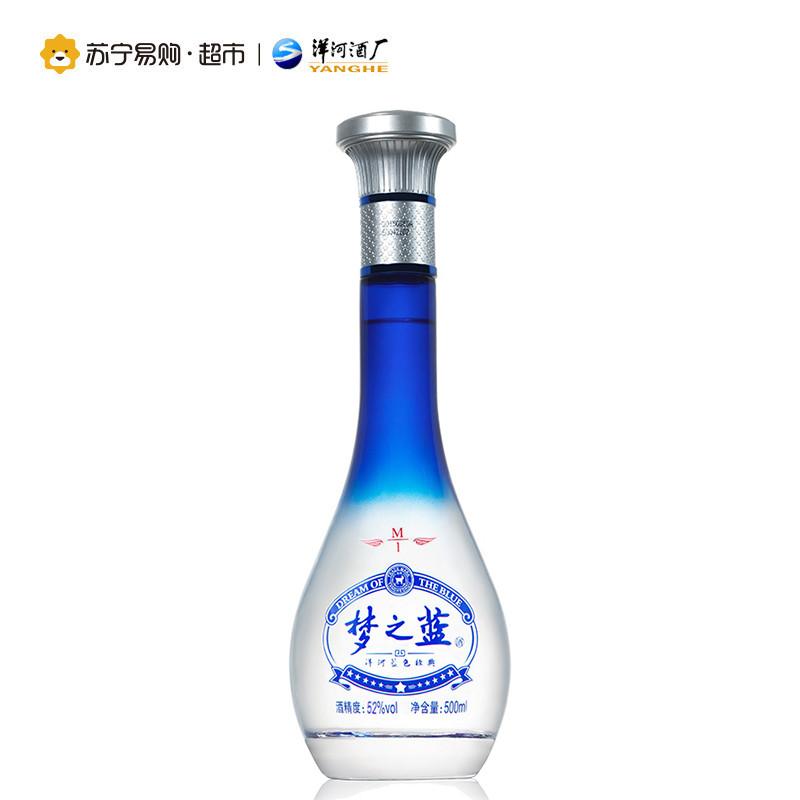 洋河梦之蓝m1 52度500ml