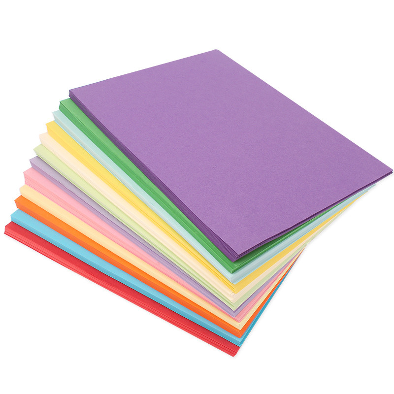 彩色复印纸 打印纸 a4复印纸 手工折纸 千纸鹤纸 儿童剪纸彩纸 手工纸