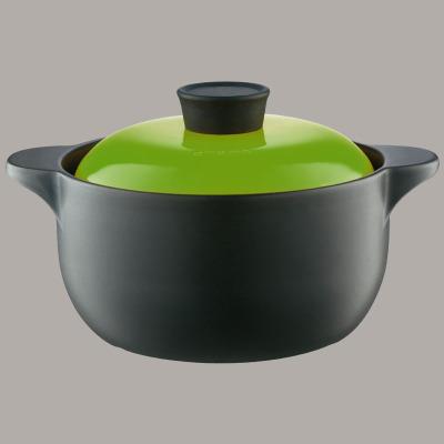爱仕达ASD陶瓷煲奶煲砂锅汤煲奶锅1.6L容量·甄陶Ⅱ系列直径17cmRXC16B2Q