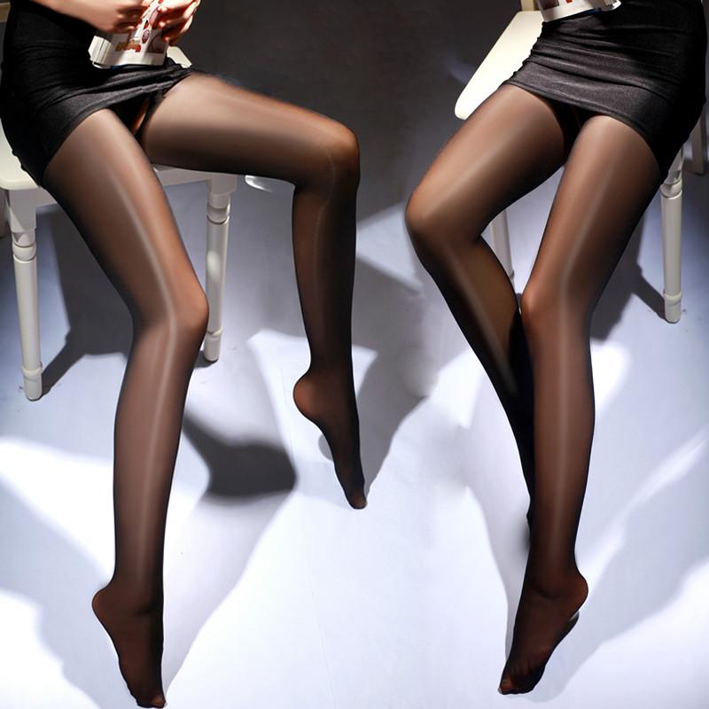 叶子媚性感店铺女士珠光油亮连裤袜开裆裸氨亮丝打底美情趣内衣蒲超薄图片