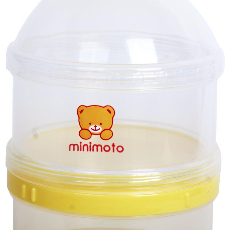 【苏宁自营】小米米minimoto YA08051 婴儿三层奶粉盒婴儿便携奶粉格外出储存盒三层奶粉分装盒