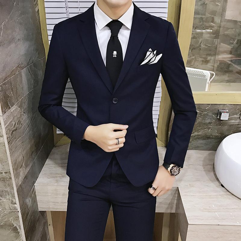 结婚礼服男套装