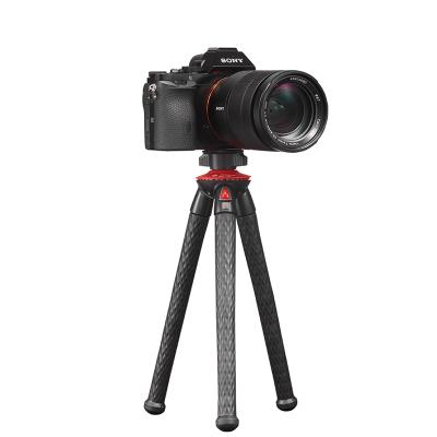 富圖寶(Fotopro) RM-100+SJ-15 八爪魚便攜支架微單相機手機三腳架 折合高度263mm