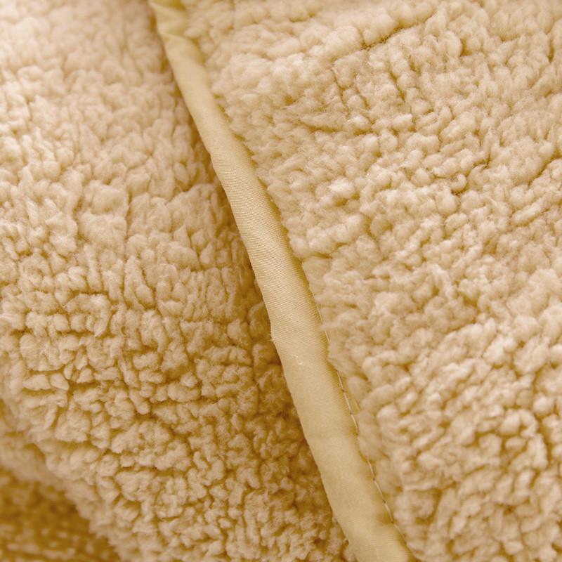 迎馨 床品家纺 羊羔绒被子 加厚保暖冬被被芯 双人 200*230cm 双人