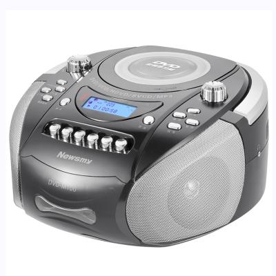 纽曼(Newsmy) DVD-M100 黑色 英语学习机 CD机磁带机 双声道录音机卡带播放机 胎教收录机 教学插卡音箱