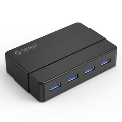 奥睿科(ORICO)4口USB3.0集线器带电源-H4928-U3-V1-BK