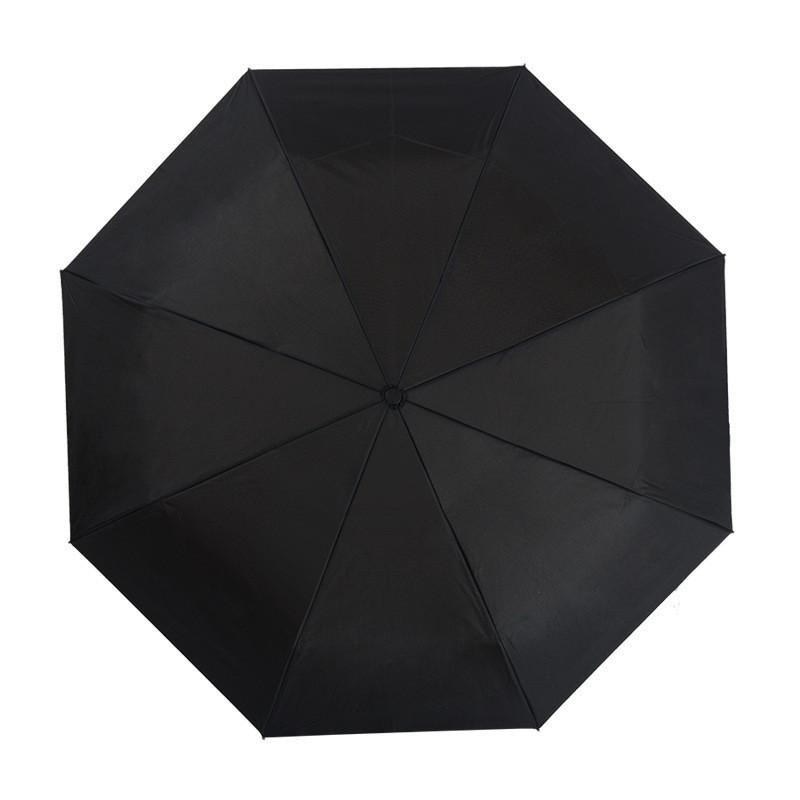 三折推拉开关双层伞布防晒伞防紫外线晴雨伞轻便防风遮阳伞
