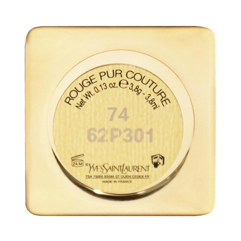 【苏宁超市】圣罗兰(YSL)纯口红74# 方管74# 3.8g