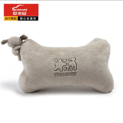 爱车屋(ICAROOM)汽车头枕 车用护颈枕头靠枕四季卡通车载枕头骨头枕 T-103D