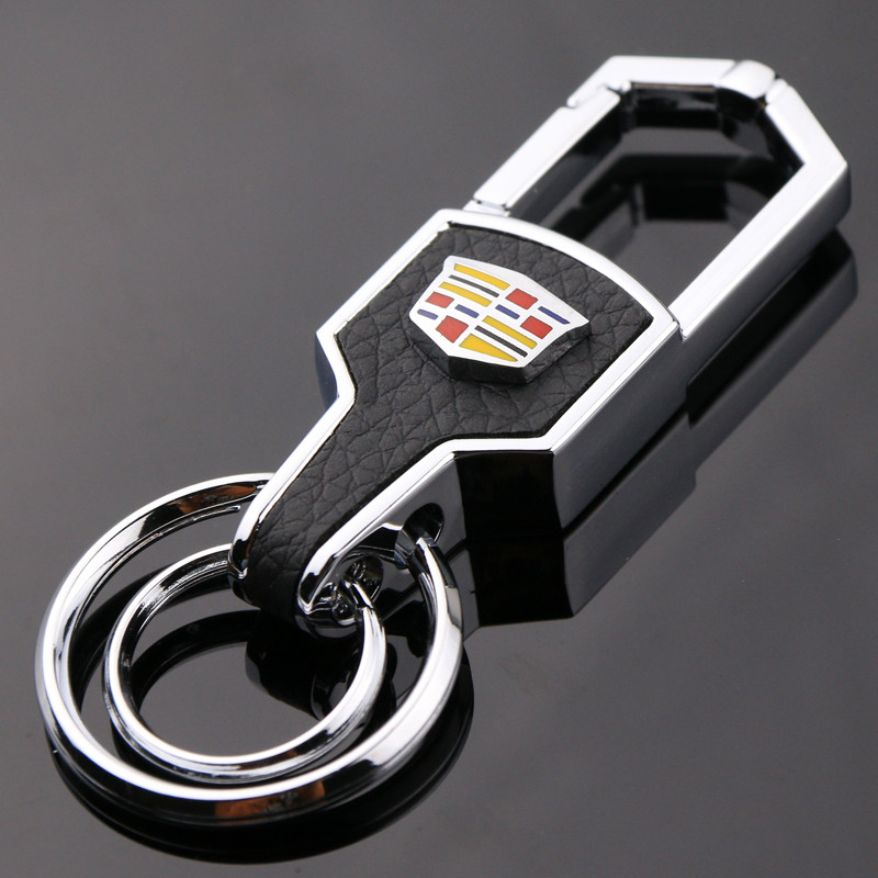 bw9新款适用于凯迪拉克汽车钥匙扣xtsctsatssrx凯雷德