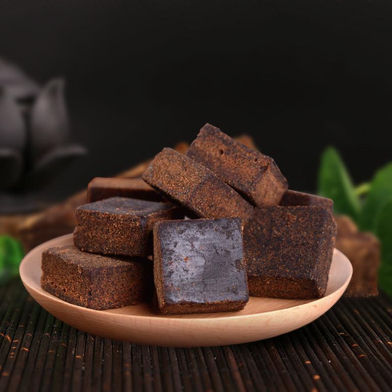 古熬原味黑糖块黑糖老土红糖罐装独立包248g开心乐