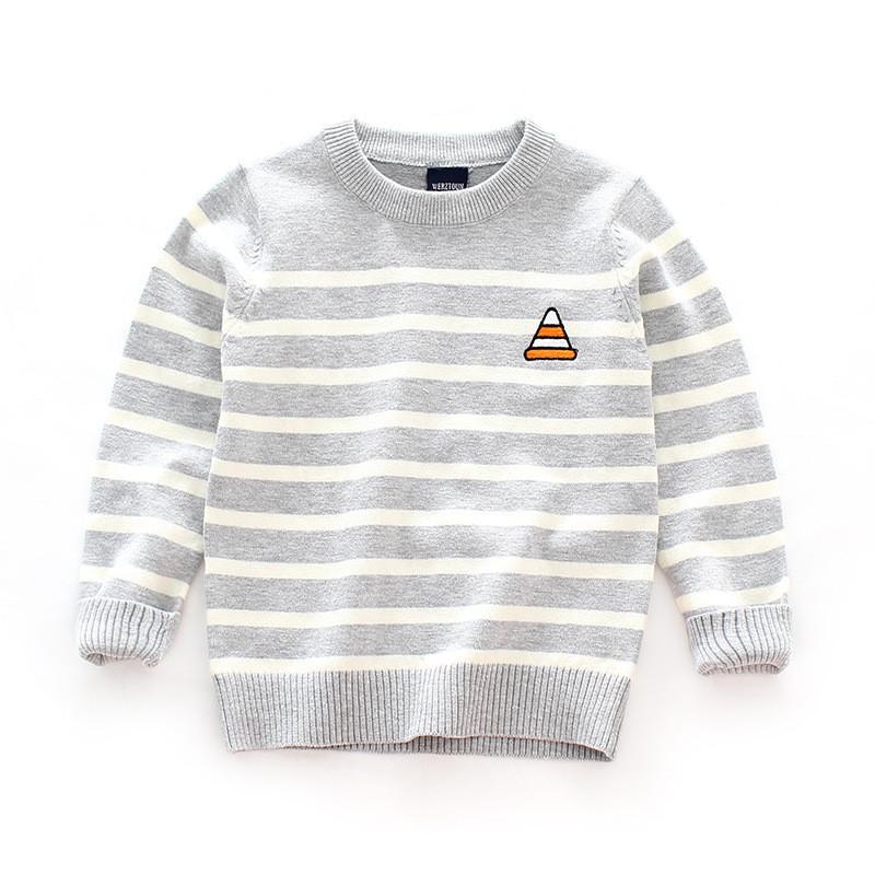 儿童宝宝毛衣男童针织衫女套头童装春秋装新款婴儿小童毛衫毛线衣 90