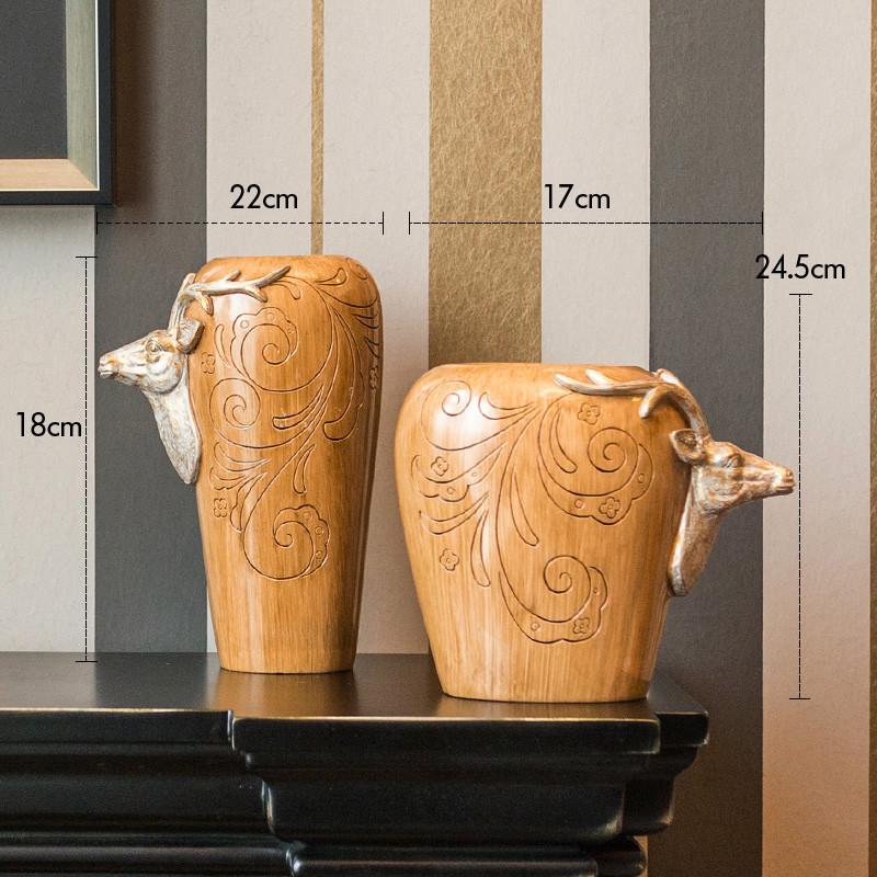 新款特价创意欧式室内软装饰品摆件客厅简约现代客厅电视柜复古工艺品