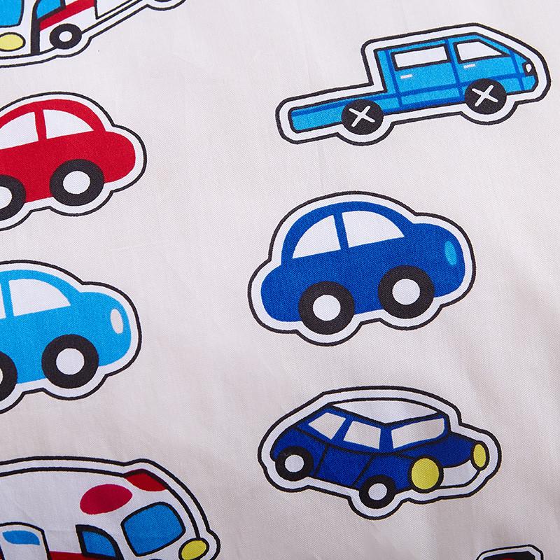 幼儿园开学纯棉卡通汽车秋冬被芯单件儿童午睡被子全棉被套 1.1*1.