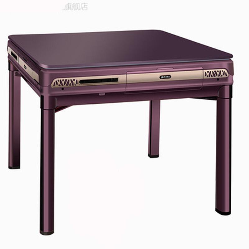 运动户外麻将机全自动餐桌两用麻将桌欧式四口折叠家用机麻电动麻将