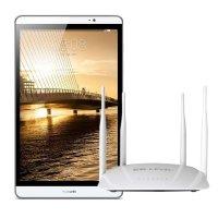 【套餐】华为(HUAWEI)M2-803L银色16GB LTE平板电脑+路由器