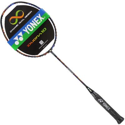 尤尼克斯YONEX羽毛球拍进攻型职业中高级单拍李宗伟DUORA双刃10双面异型全碳素羽拍 高端羽拍 未穿线