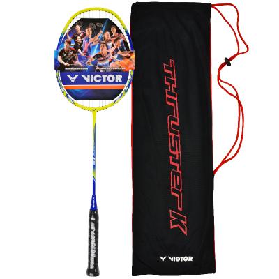 威克多victor勝利羽毛球拍單拍全碳素男女進攻型羽拍 TK-99-F(4U單拍)