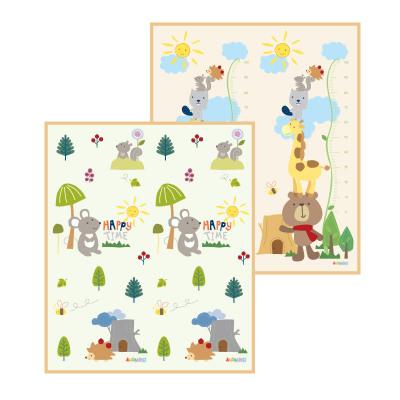 澳贝(AUBY)森林乐园卷垫-常规款A 安全环保XPE材质 10MM加厚儿童爬行垫地垫围栏0-6个月 464332DS