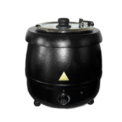 MT502-BK-10L 不锈钢内胆电热保温炉 保温汤锅 电加热保温汤锅