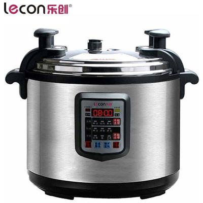 樂創(lecon) 25L大容量電壓力鍋商用 飯店電飯鍋食堂用電飯煲 高壓鍋