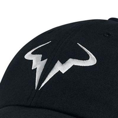 耐克(NIKE) 纳达尔法网/澳网 有顶网牛头标志网球帽 850666-010