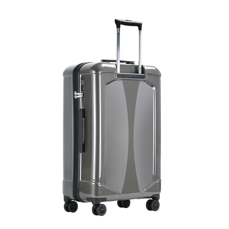 托尼洛·兰博基尼 个性凹面板拉杆箱带双色logo旅行箱