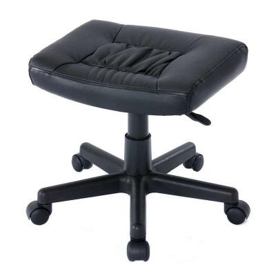 日本山業(Sanwa Supply)100-SNC035小型電腦椅/多用式腳榻/轉椅/ 可升降/防水耐臟PU皮
