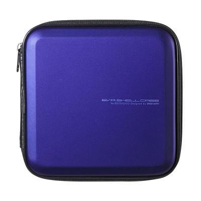 日本山業(Sanwa supply)車載藍光CD包/藍光光盤收納包/DJ用藍光碟片包/FCD-WLBD24BL 24片藍
