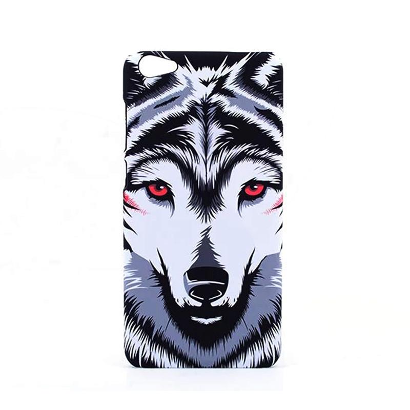 特兰恩 夜光动物浮雕保护套卡通男女潮款硬胶磨砂手机
