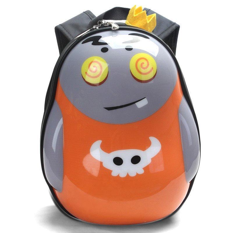 爱亲亲 儿童书包可爱卡通蛋壳硬壳书包小学生幼儿园双肩减压背包 粉红