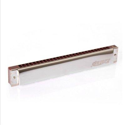 里歌 LIGE 口琴28孔復音口琴演 奏初學型寬音域德國工藝