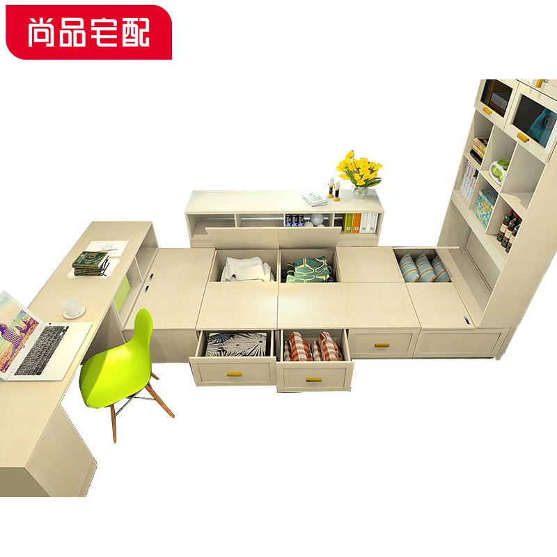 尚品宅配书房家具榻榻米定制整体卧室塌塌米床定做预付金