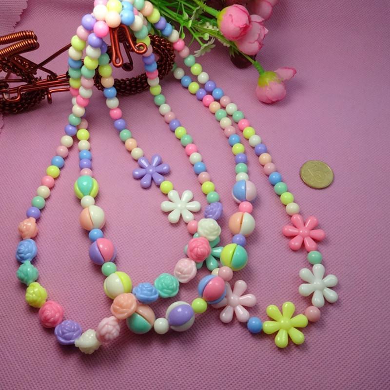 糖果系儿童手工串珠diy穿珠 益智玩具幼儿园制作材料弱视手链 ef26002