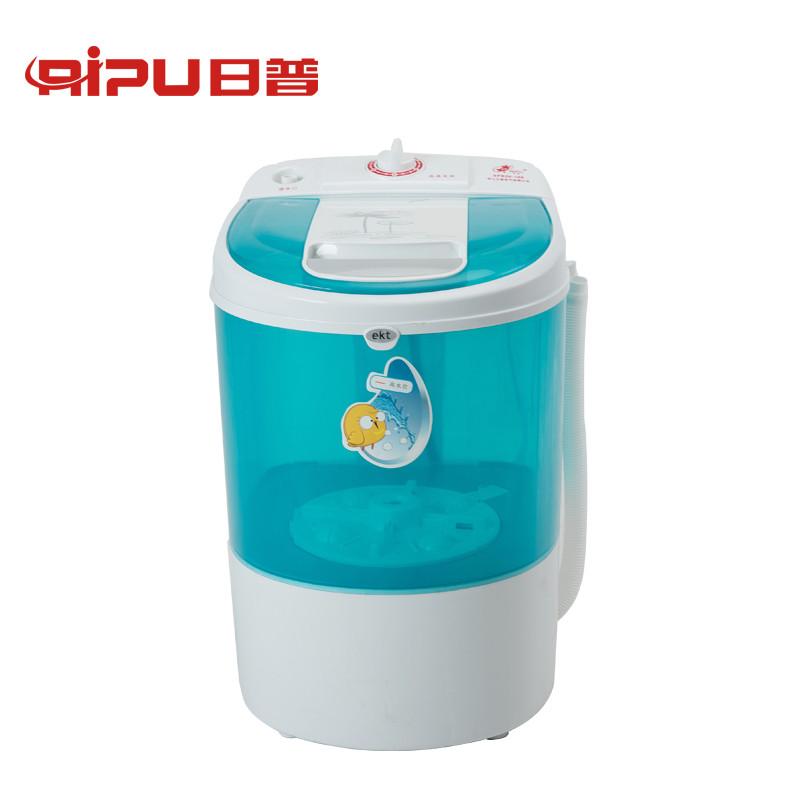 6公斤迷你洗衣机 单桶迷你婴儿宝宝洗衣机 xpb26-188 绿色