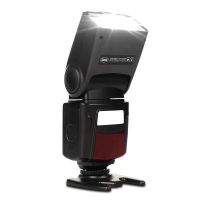 斯丹德DF-400闪光灯单反相机佳能60D 70D 6D尼康D90 D5200 D7000 D7100通用外置机顶闪光灯