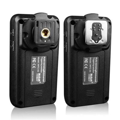 斯丹德WFC-02 閃光燈配件無線引閃器for佳能離機觸發器相機影室通用